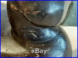 1920s-30s Fritz Geiger match pair of Blue bill decoys original paint Wisconsin