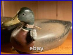 1930 Vintage Drake Mallard Decoy
