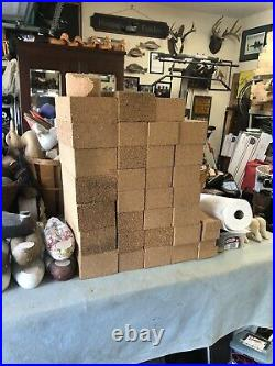 30 Cork Blocks For Carving Decoys Or Yoga Wood Ducks Teal Mallards