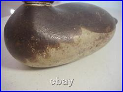 Antique 19th Century DODGE or MASON DUCK DECOY with Glass Eye