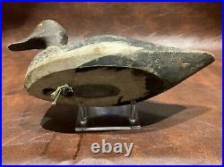Antique Duck Decoy Original Paint Havre De Grace Maryland Chesapeake Bay Carved