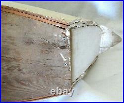 Antique Slat Back Canadian Swan Decoy from Barnegat, New Jersey
