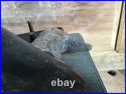 Antique vintage old wooden working Early NC/ Backbay Va. Bluebill duck decoy