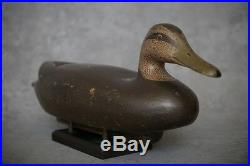 Black Duck Decoy by Tony Bianco circa 1940 FINAL PRICE REDUCTION