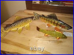 Carl Christensen Golden Trout Large Fish Decoy (1 decoy) fishing hunting