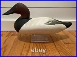 Charlie Joiner Canvasback Decoy Chestertown Maryland vintage antique