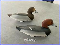 Charlie Joiner Decorative Red Head Pair 1997