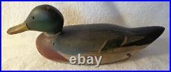 Dodge Glasseye Mallard Duck Decoy All Original Paint