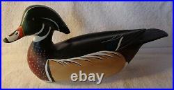 Drake Wood Duck By Bill William Goenne