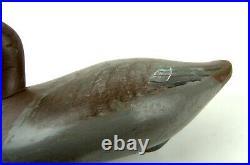 Early MADISON MITCHELL BLUEBILL decoy-1940s Chesapeake Bay style