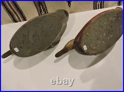 Excellent Pair Vintage Mason Factory Premier Mallard Decoys Decoy
