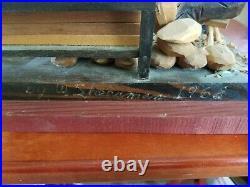 Folk Art Americana wood signed 1968 decoy carver Sheerman