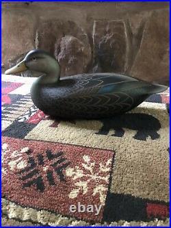 Frederick C Brown Brick Twp Ocean County New Jersey Black Duck Decoy
