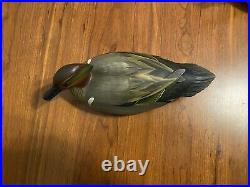 Green Winged Teal Decoys. George Strunk (Glendora, New Jersey)