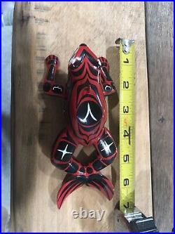 Greg Pususta 7 Inch Frog Fish Decoy