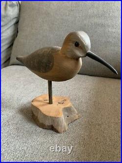 Harry V Shourds Robin Snipe, Shorebird Decoy, Nj Decoy