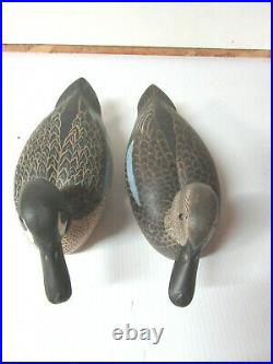 Hector Whittington Illinois River Great Blue-wing Teal decoys