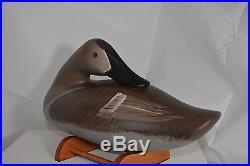 Jimmy Pierce Preening Canvasback Hen Duck Decoy