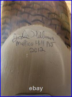 Jode Hillman Redhead Decoy Pair Mullica Hill NJ