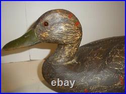 Ken Anger Blackduck Duck Decoy Pair All Original Early 1930-35 Ontario