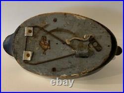 Ken Anger, Dunnville Ontario Bluebill w Swing weight Wooden Antique Duck Decoy