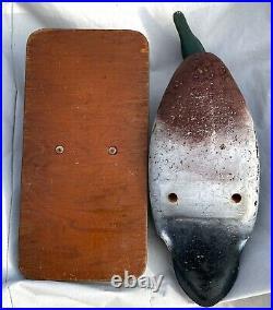 LL Bean Vintage Mallard George Soule Standing Cork Field Duck Decoy