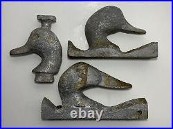 LOT Vintage Madison Mitchell Aluminum Duplicator Patterns Duck Decoys Wildfowler