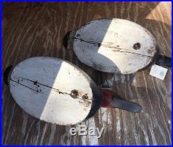 Mason Decoy Canvasback Premier Grade Back Bay Oversize Pair 2 Rare