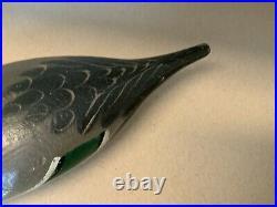 Mason Standard Grade Glass Eyed Drake Pintail Decoy