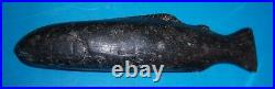 Ohio Stone Fish Effigy Holy Grail Spearing Decoy 6