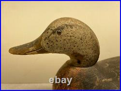 Old Antique Vintage Wood Duck Decoy MASON Mallard Hen