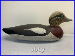 Old Antique Vintage Wood Duck Decoy MASON Wigeon