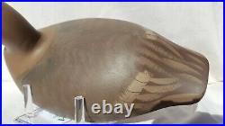 Pair Of 1987 Cecil County Bluebill Wingduck Decoys Bob Litzenberg (1910-1997)