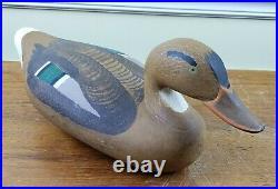 Paul Gibson Mallard Duck Decoy VTG Hunting Chesapeake Bay Bird Havre de Grace
