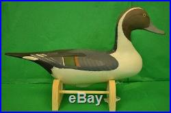 Pintail Duck Decoy 1987 by Capt Harry Jobes