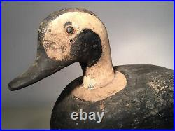 Primitive Working Old Squaw Duck Decoy Unsigned