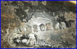 RARE Vintage c1890 Harry V Shourds Black Duck Decoy Tuckerton New Jersey NJ