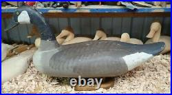 R. Madison Mitchell of Havre de Grace Maryland 1966 Canada Goose Decoy Signed