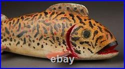 Reggie Birch Cadillac Style Folk Art Fish Spearing Decoyice Fishing Lure