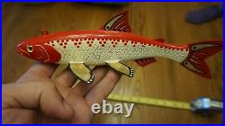 Spearing Decoy Hand Crafted One of a Kind Thomas Decoys
