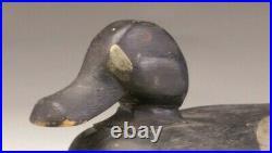 Very Rare Antique Cobb Family Bluebill Decoy