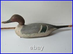 Vintage As Found Mason Challenge Grade Mallard Drake Duck Decoy
