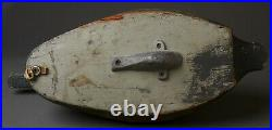 Vintage Canvasback Duck Decoy By Unknown Michigan Carver