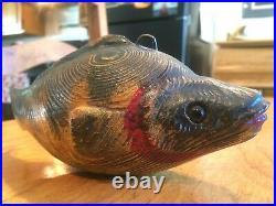 Vintage David Perkins DFD Duluth Fish Decoy