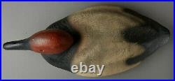 Vintage Herters 1893 Canvasback Drake Duck Decoy