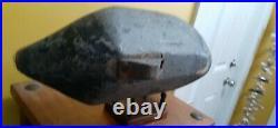 Vintage Knotts Island North Carolina Blackhead0 Battery Duck Decoy Currituck, NC