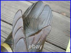 Vintage Original Tom Taber Hersey Kyle Wood Duck Wooden Decoy