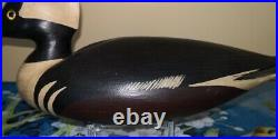 Vintage Very Special Hurley Conklin Manahawkin N. J. Merganser Duck Decoy RARE