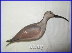 Vintage signed Bieber stickup Shore Bird decoy
